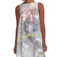 spaceman-touch the future A-Line Dress
