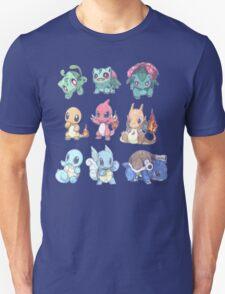 CUTE Pokemon Starters!! T-Shirt
