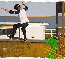 Poppy Starr Olsen - Frontside 5-0 Grind by reflector