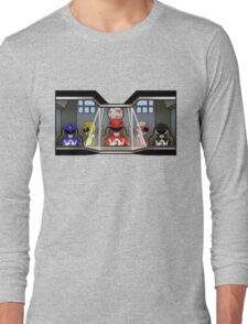 Inside A Giant Robot Long Sleeve T-Shirt