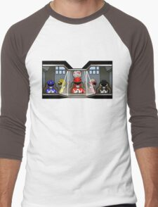 Inside A Giant Robot Men's Baseball ¾ T-Shirt