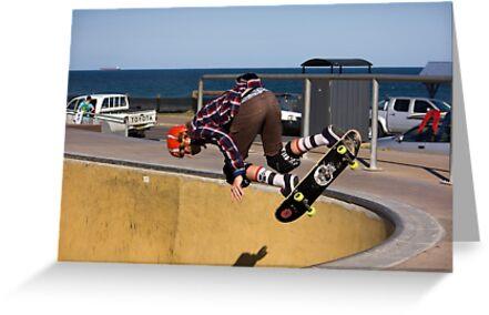 Backside Corner Ollie Air - Empire Park Skate Park by reflector