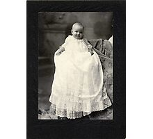 MARY ELLA WINCHESTER, 5 MONTHS 16 DAYS OLD Photographic Print