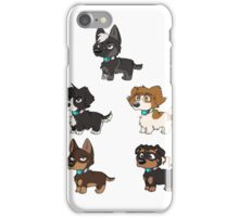 Paladin Pups [group ver.] iPhone Case/Skin