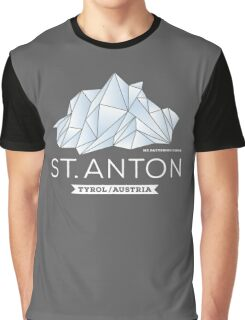 St. Anton Patteriol Graphic T-Shirt