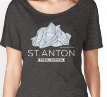 St. Anton Patteriol Women's Relaxed Fit T-Shirt