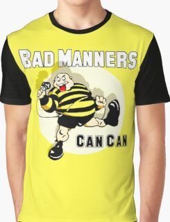 Bad Manners Can Can Graphic T-Shirt