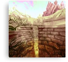 Labyrinth Canvas Print