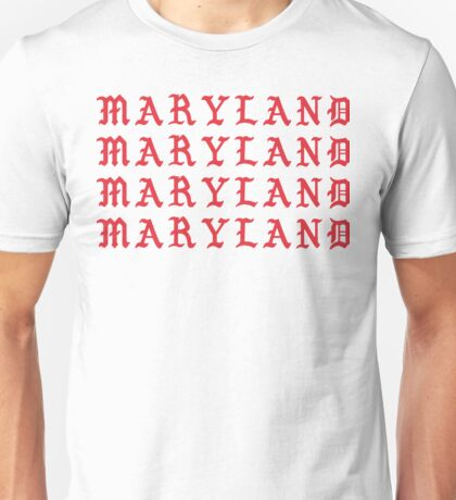I FEEL LIKE MARYLAND Unisex T-Shirt