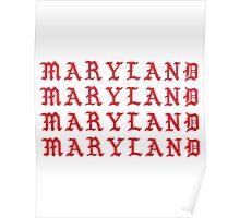 I FEEL LIKE MARYLAND Poster