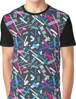 Colorful cool geometric pattern  Graphic T-Shirt