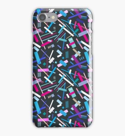 Colorful cool geometric pattern  iPhone Case/Skin