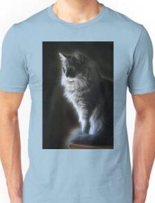 Backlit Kitty Unisex T-Shirt