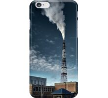 Small factory causing pollution iPhone Case/Skin