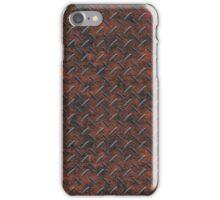 Steampunk Brown Metal Tread Pattern Design iPhone Case/Skin