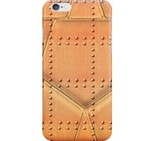 Steampunk Metal Background With Rivets iPhone Case/Skin
