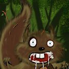 Rabid Squirrel by mdkgraphics