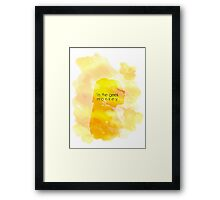 The Geek Monkey Framed Print