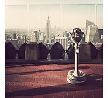 Top of the Rock (Old School) Photographic Print
