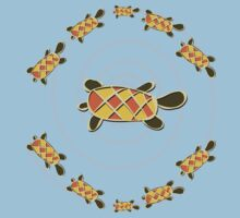 Turtles Dance Baby Tee