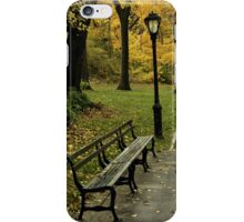 Fall In New York (Central Park) iPhone Case/Skin