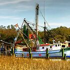Geechie Seafood Shrimp Boats by TJ Baccari Photography