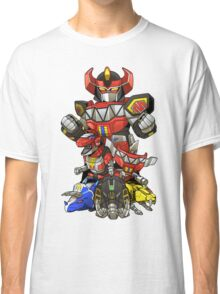 Dinosaur Robots Classic T-Shirt