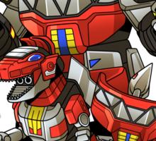 Dinosaur Robots Sticker