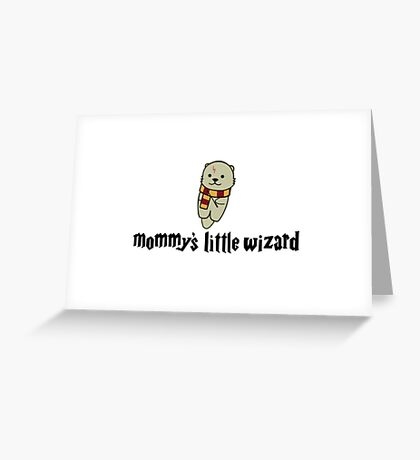 Mommy's Little Wizard Greeting Card