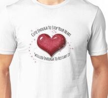 Super Cute Heart Stopper Medical Design Unisex T-Shirt