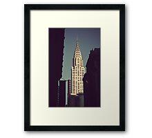 Crysler Building Framed Print