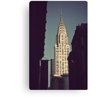 Crysler Building Canvas Print