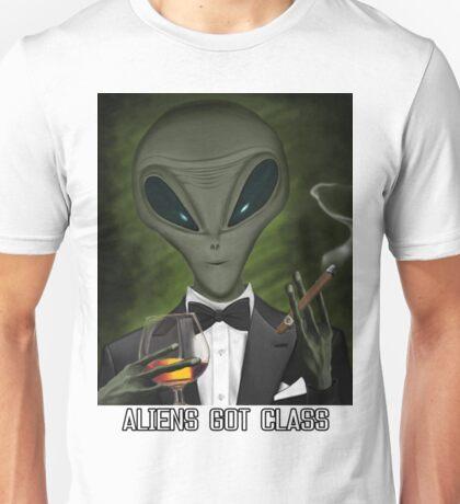 Aliens Got Class Unisex T-Shirt