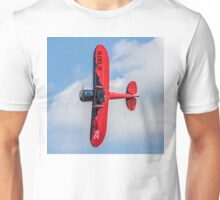 Travel Air Mystery Ship replica G-TATR - belly view Unisex T-Shirt