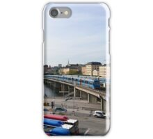 Trains in Stockholm, Sweden iPhone Case/Skin