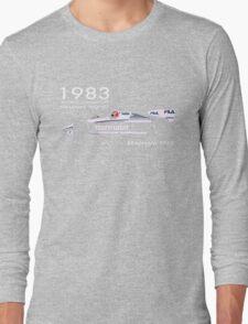 BRABHAM 1983 NELSON PIQUET (1) Long Sleeve T-Shirt