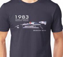 BRABHAM 1983 NELSON PIQUET (1) Unisex T-Shirt