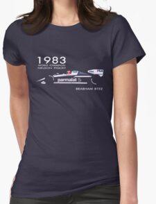 BRABHAM 1983 NELSON PIQUET (1) Womens Fitted T-Shirt