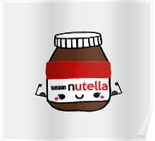 I Workout For Nutella  Poster