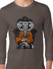 Yogaphant Color Long Sleeve T-Shirt