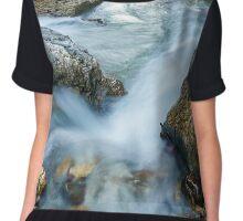 Mountain river Chiffon Top