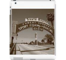 Route 66 - Santa Monica Pier iPad Case/Skin