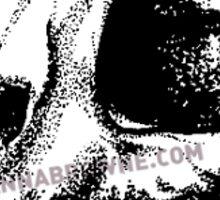 Feline Skull Sticker