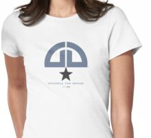 Sparkle the Brain logo - Denim Womens Fitted T-Shirt
