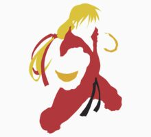 Ken silhouette/cutout (Street fighter) by BK4REVENGE