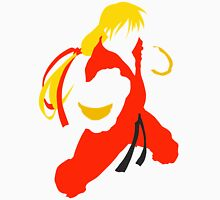 Ken silhouette/cutout (Street fighter) Unisex T-Shirt