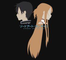 Minimalistic Kirito/Asuna (Sword Art Online) by BK4REVENGE