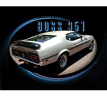 BOSS 351 Rear Photographic Print