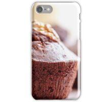 Chocolate muffins iPhone Case/Skin