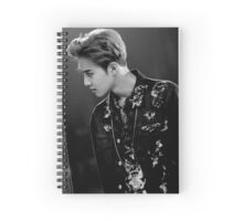 lotto suho exo Spiral Notebook